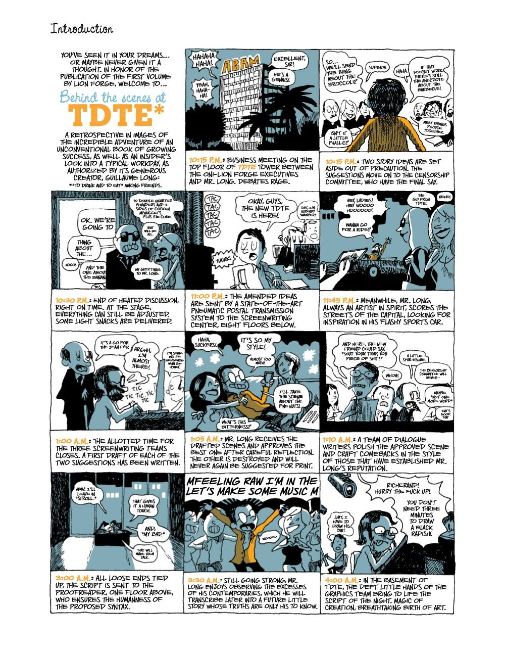 DRINKEATV2-REFERENCE-003 ComicList Previews: TO DRINK AND TO EAT VOLUME 2 HC