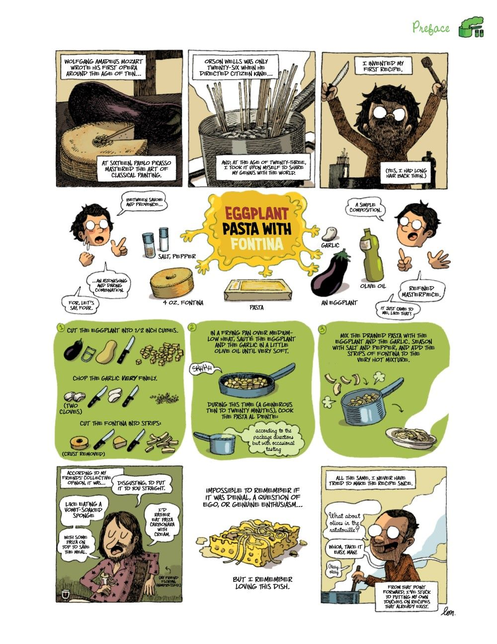 DRINKEATV2-REFERENCE-008 ComicList Previews: TO DRINK AND TO EAT VOLUME 2 HC