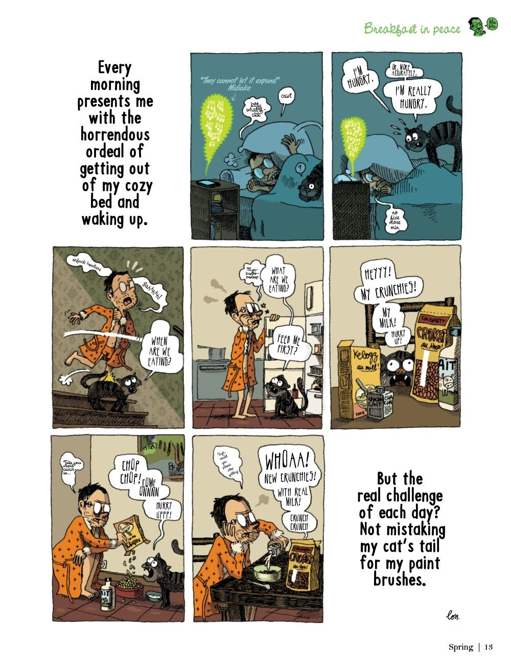 DRINKEATV2-REFERENCE-014 ComicList Previews: TO DRINK AND TO EAT VOLUME 2 HC
