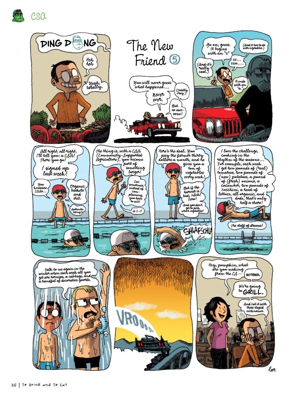 DRINKEATV2-REFERENCE-017 ComicList Previews: TO DRINK AND TO EAT VOLUME 2 HC