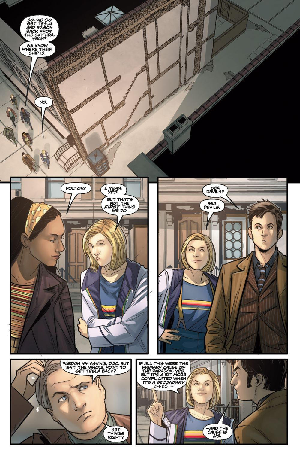 DW_3_02-32_INTERIORS_v3al_Page_5 ComicList Previews: DOCTOR WHO COMICS #3