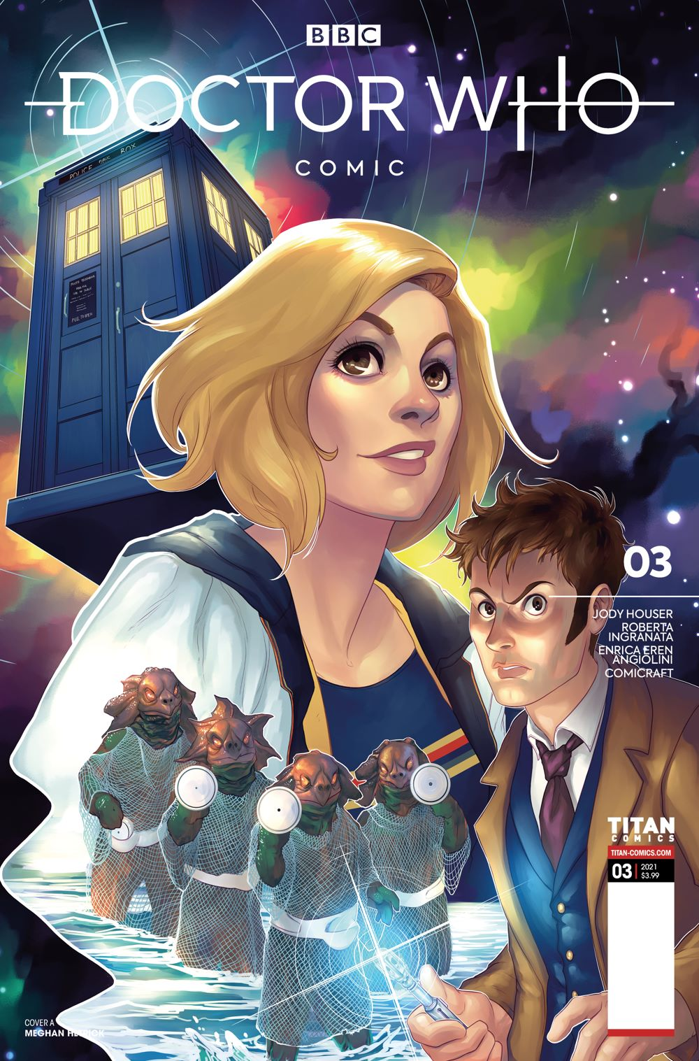 DW_3_Ajpg ComicList Previews: DOCTOR WHO COMICS #3