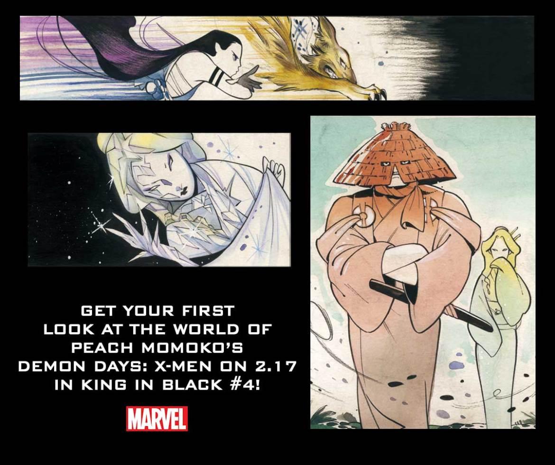 DemonDays Peach Momoko's DEMON DAYS saga will be revealed in KING IN BLACK #4