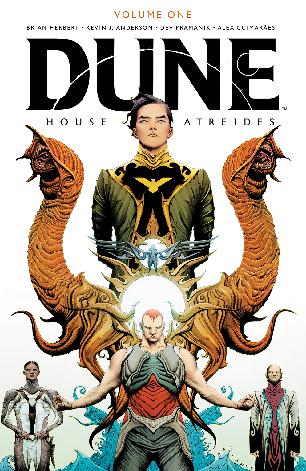 Dune_HouseAtreides_v1_HC_Cover BOOM! Studios April 2021 Solicitations