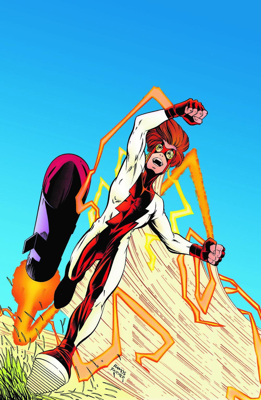 FLASH-IMPULSE-RUNS-IN-THE-FAMILY DC Comics April 2021 Solicitations