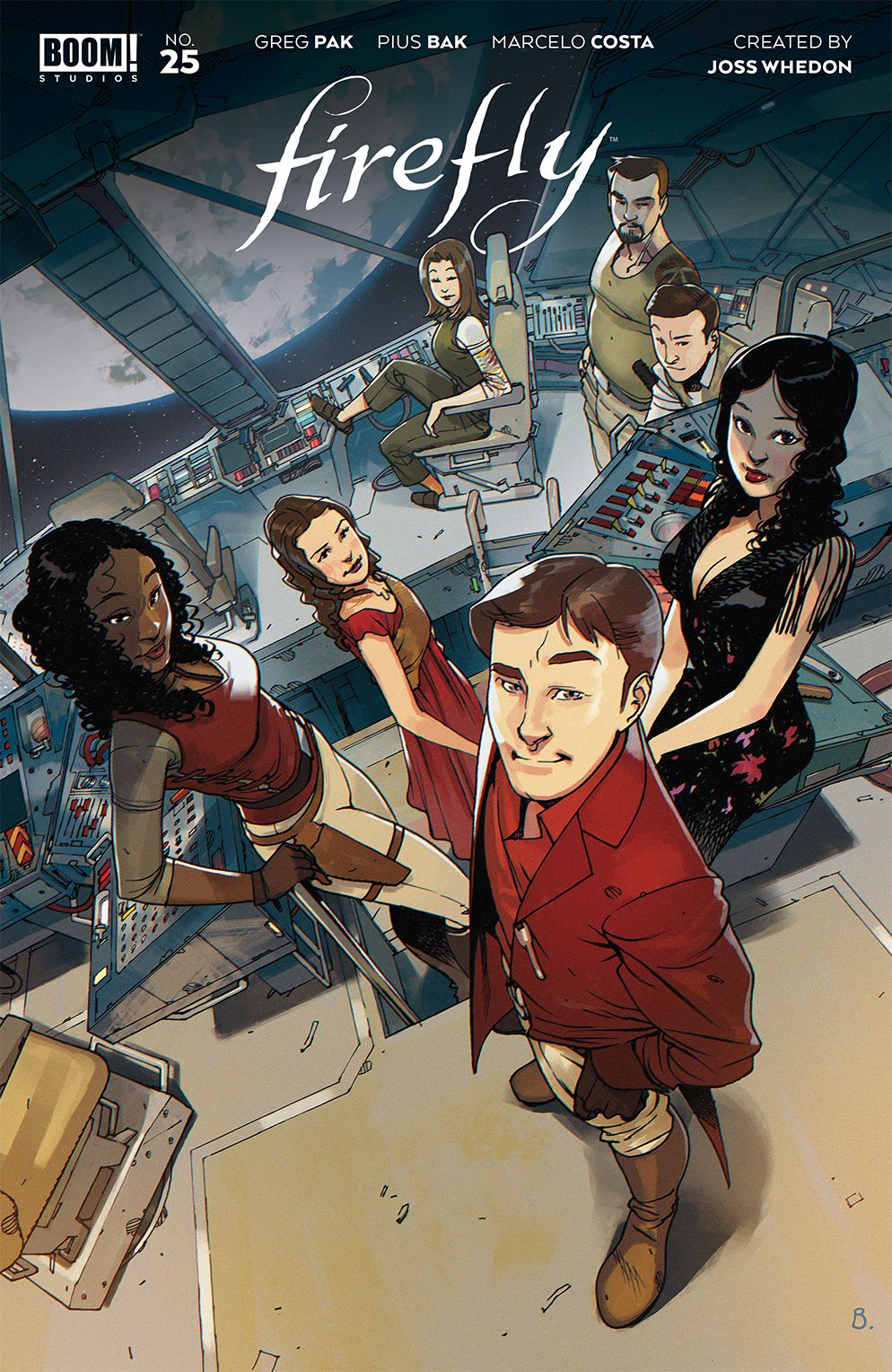 Firefly_025_Cover_A_Main ComicList Previews: FIREFLY #25