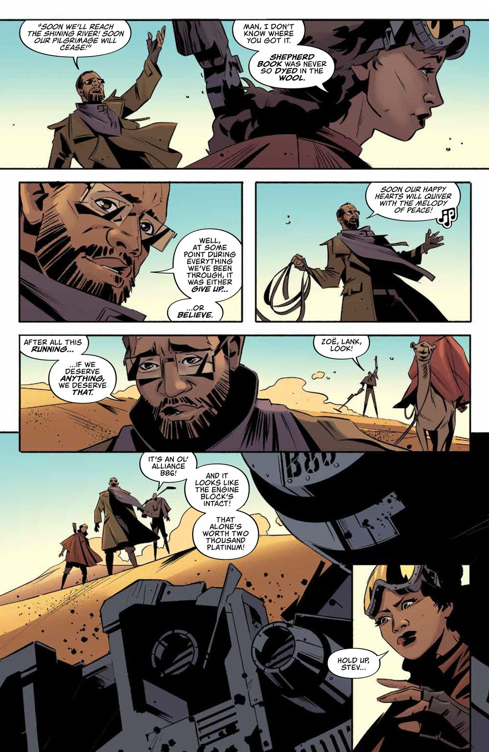 Firefly_025_PRESS_4 ComicList Previews: FIREFLY #25