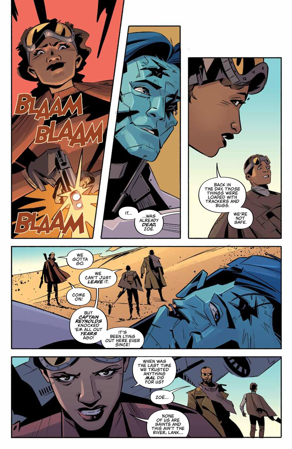 Firefly_025_PRESS_6 ComicList Previews: FIREFLY #25