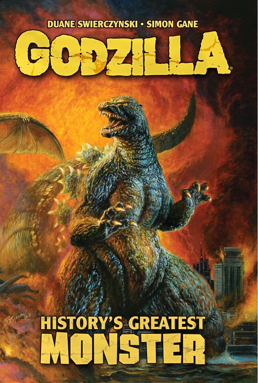 GODZILLA_HGM_COVERFRONT_FULL ComicList Previews: GODZILLA HISTORY'S GREATEST MONSTER TP (NEW PRINTING)