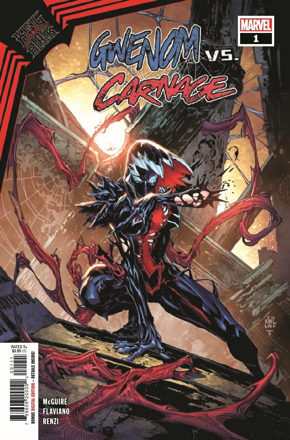 GWENOMVSCARNKIB2021001_Preview-1 ComicList Previews: KING IN BLACK GWENOM VS CARNAGE #1 (OF 3)