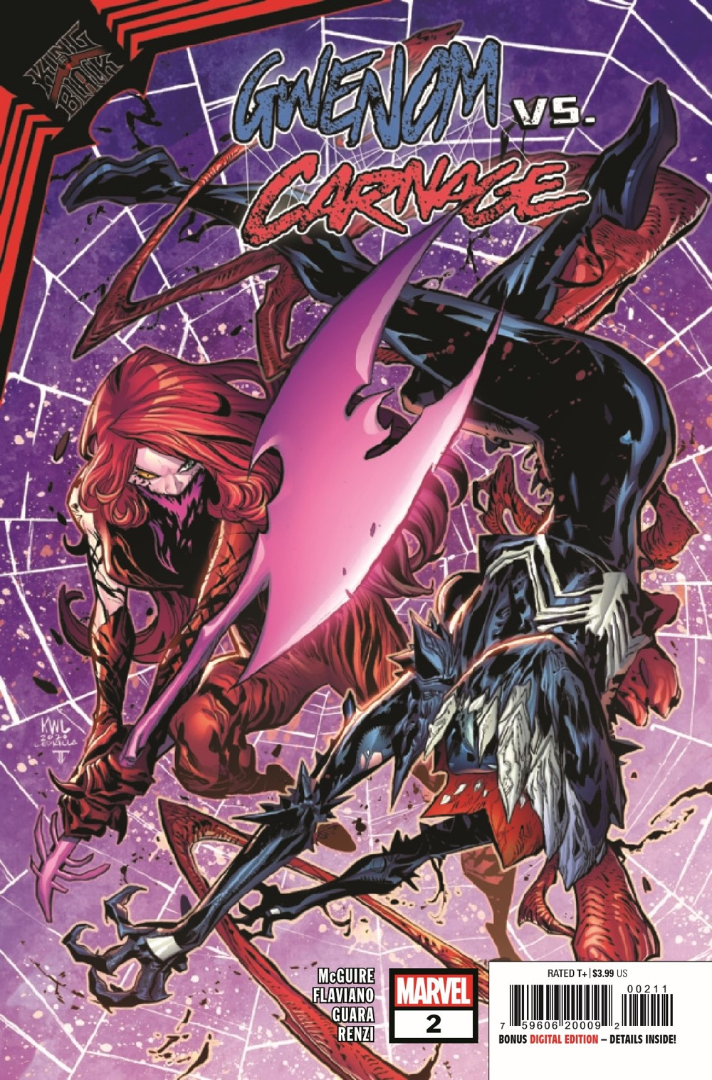 GWENOMVSCARNKIB2021002_Preview-1 ComicList Previews: KING IN BLACK GWENOM VS CARNAGE #2 (OF 3)