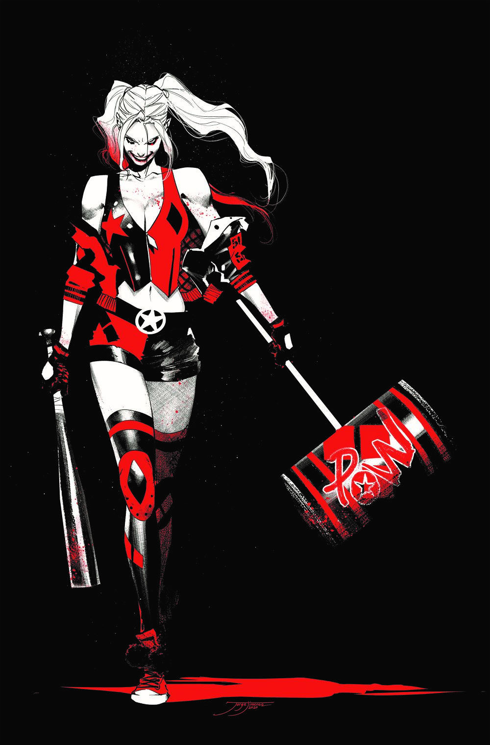 HQ-RED-BLACK-WHITE_cover DC Comics April 2021 Solicitations