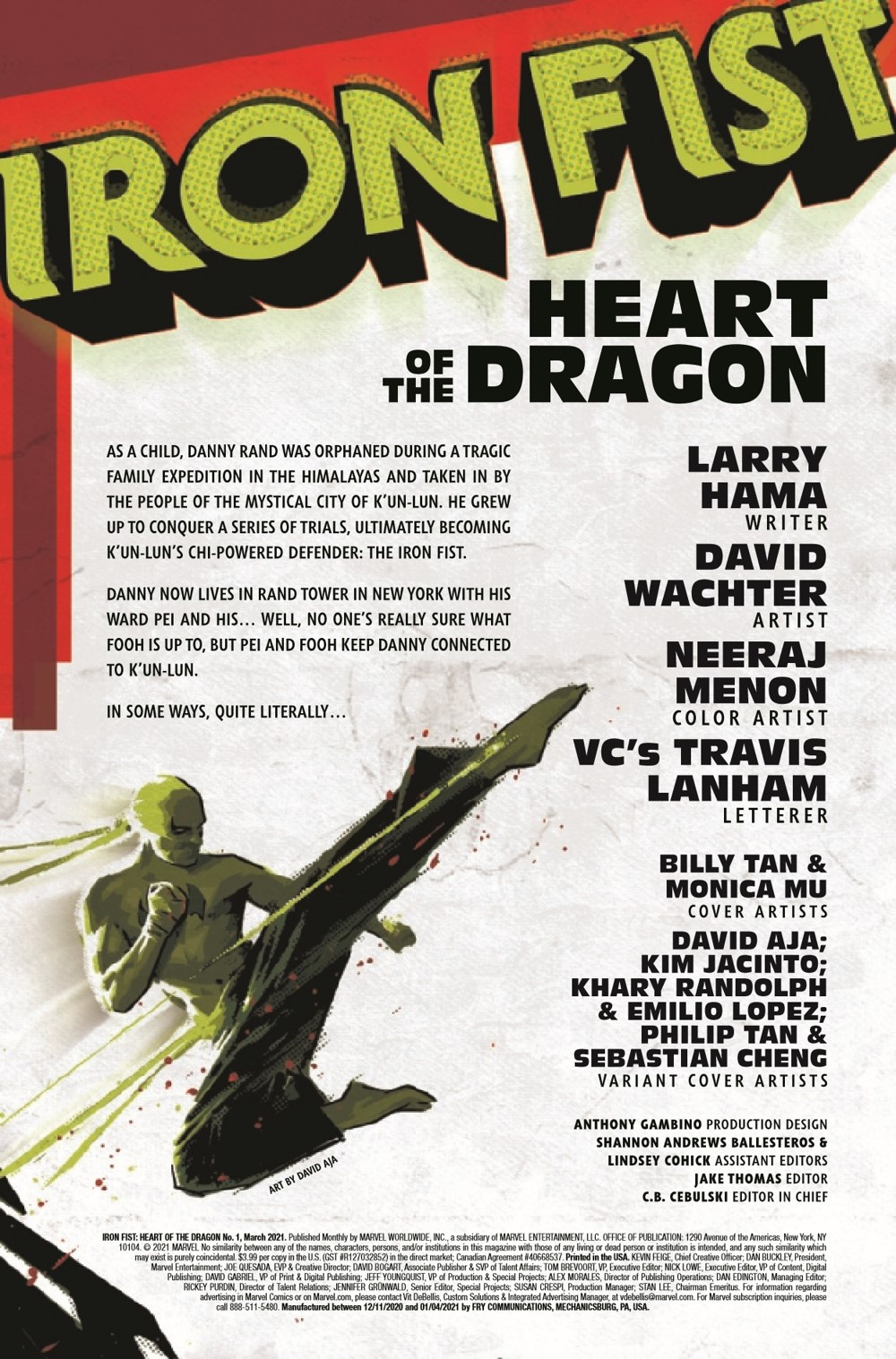 IRONFISTHOD2021001_Preview-2 ComicList Previews: IRON FIST HEART OF THE DRAGON #1 (OF 6)