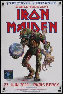 Iron-Maiden-Final-Frontier-202x300 The Many Eddies of Iron Maiden Concert Posters