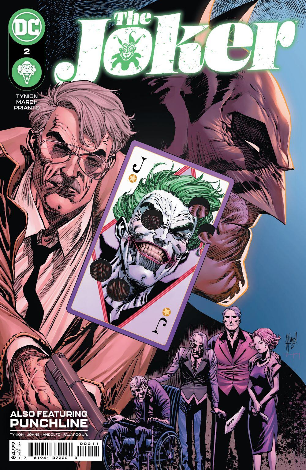 JOKER_Cv2 DC Comics April 2021 Solicitations