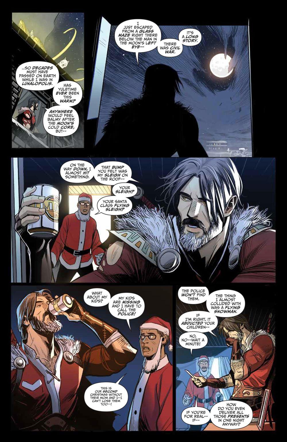 Klaus_NewAdventures_SC_PRESS_14 ComicList Previews: KLAUS THE NEW ADVENTURES OF SANTA CLAUS GN