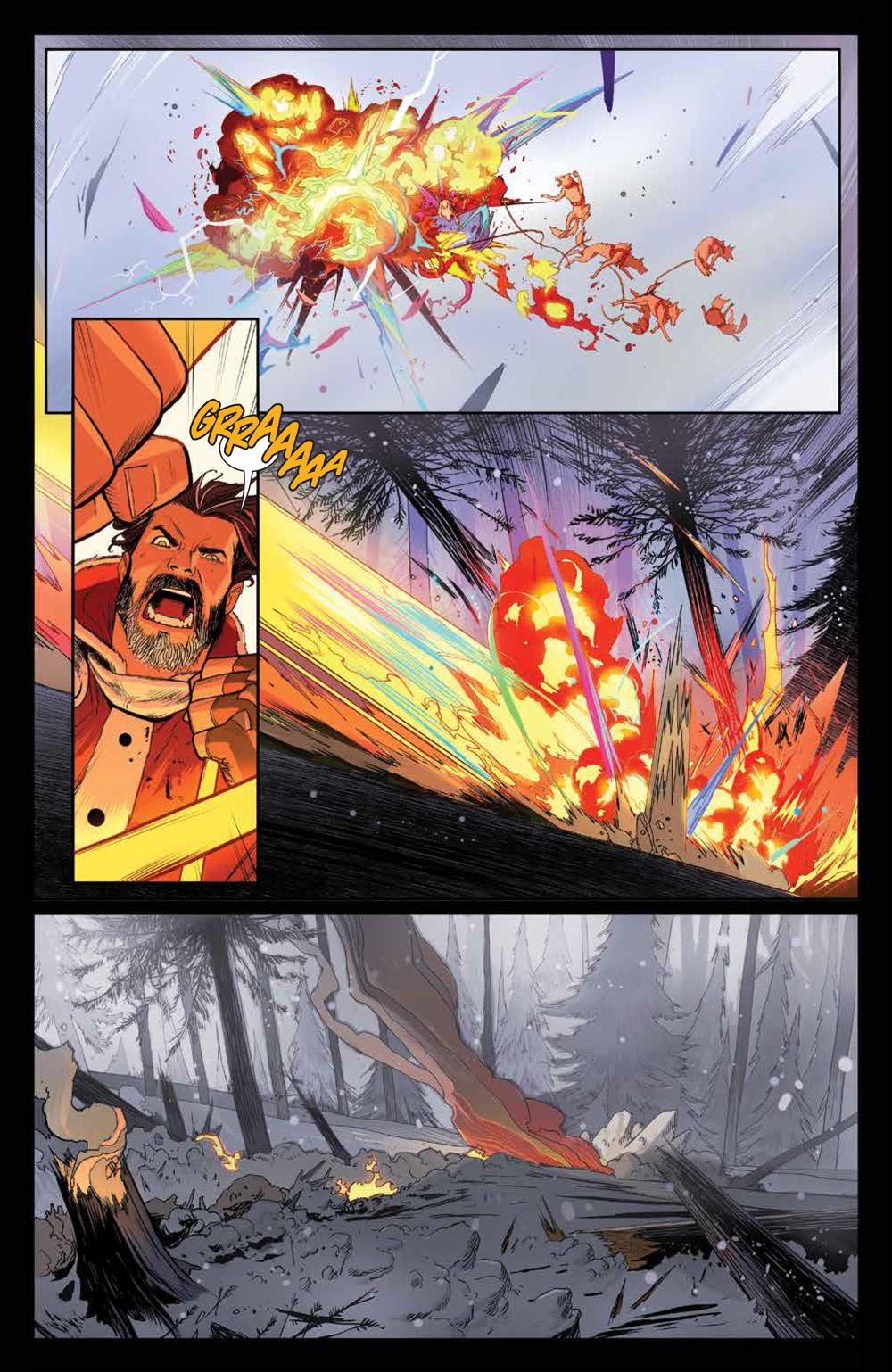 Klaus_NewAdventures_SC_PRESS_19 ComicList Previews: KLAUS THE NEW ADVENTURES OF SANTA CLAUS GN
