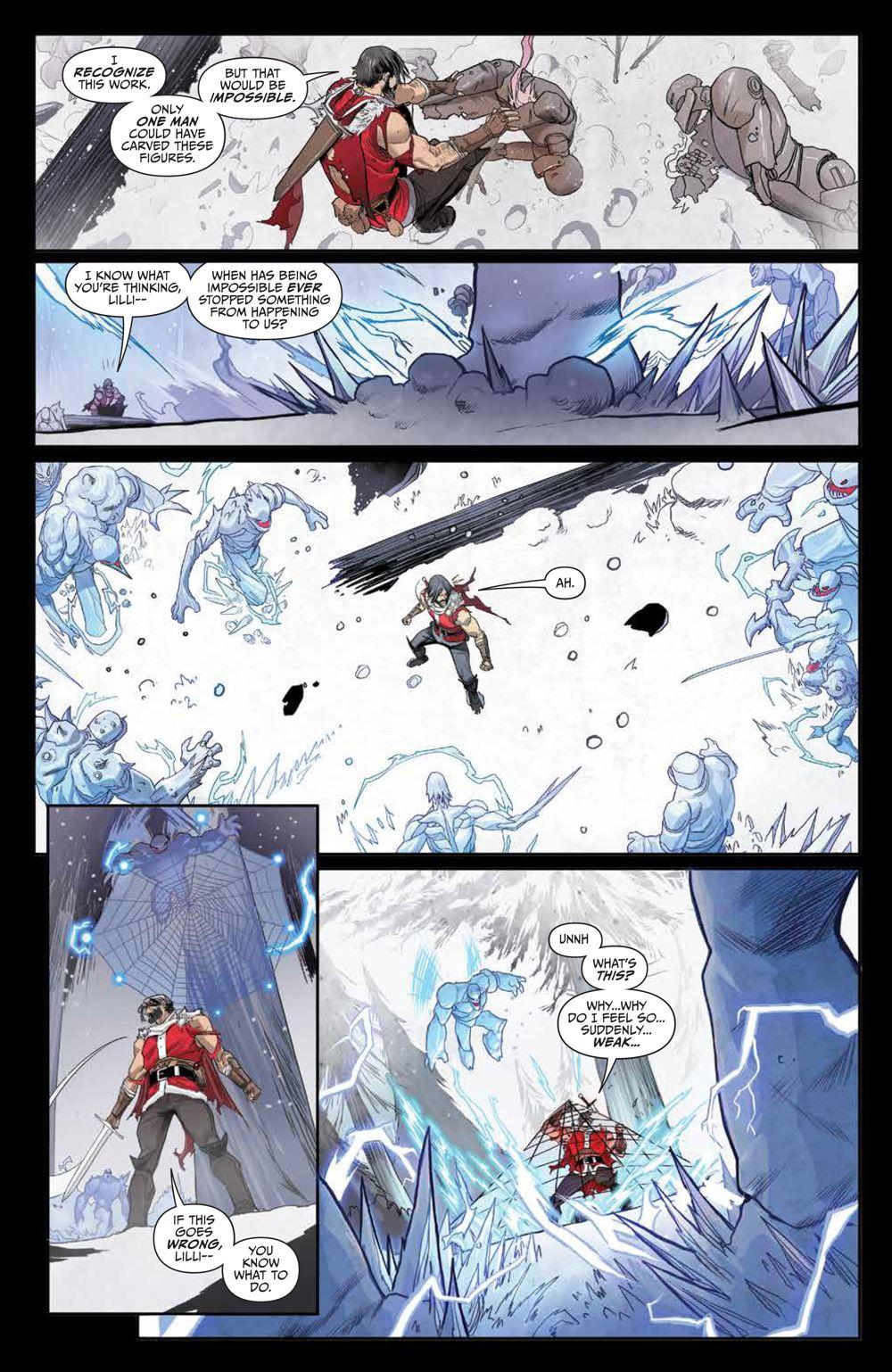Klaus_NewAdventures_SC_PRESS_22 ComicList Previews: KLAUS THE NEW ADVENTURES OF SANTA CLAUS GN