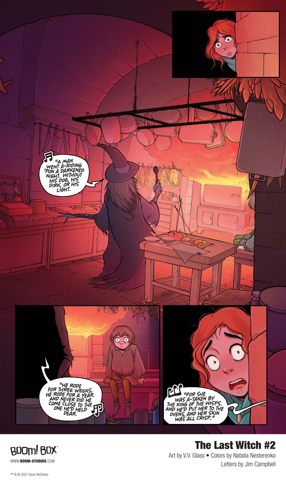 LastWitch_002_InteriorArt_002_PROMO First Look at BOOM! Studios' THE LAST WITCH #2