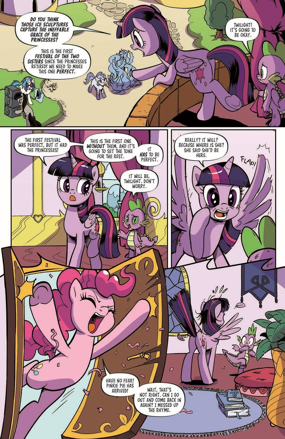 MLP94-pr-4 ComicList Previews: MY LITTLE PONY FRIENDSHIP IS MAGIC #94