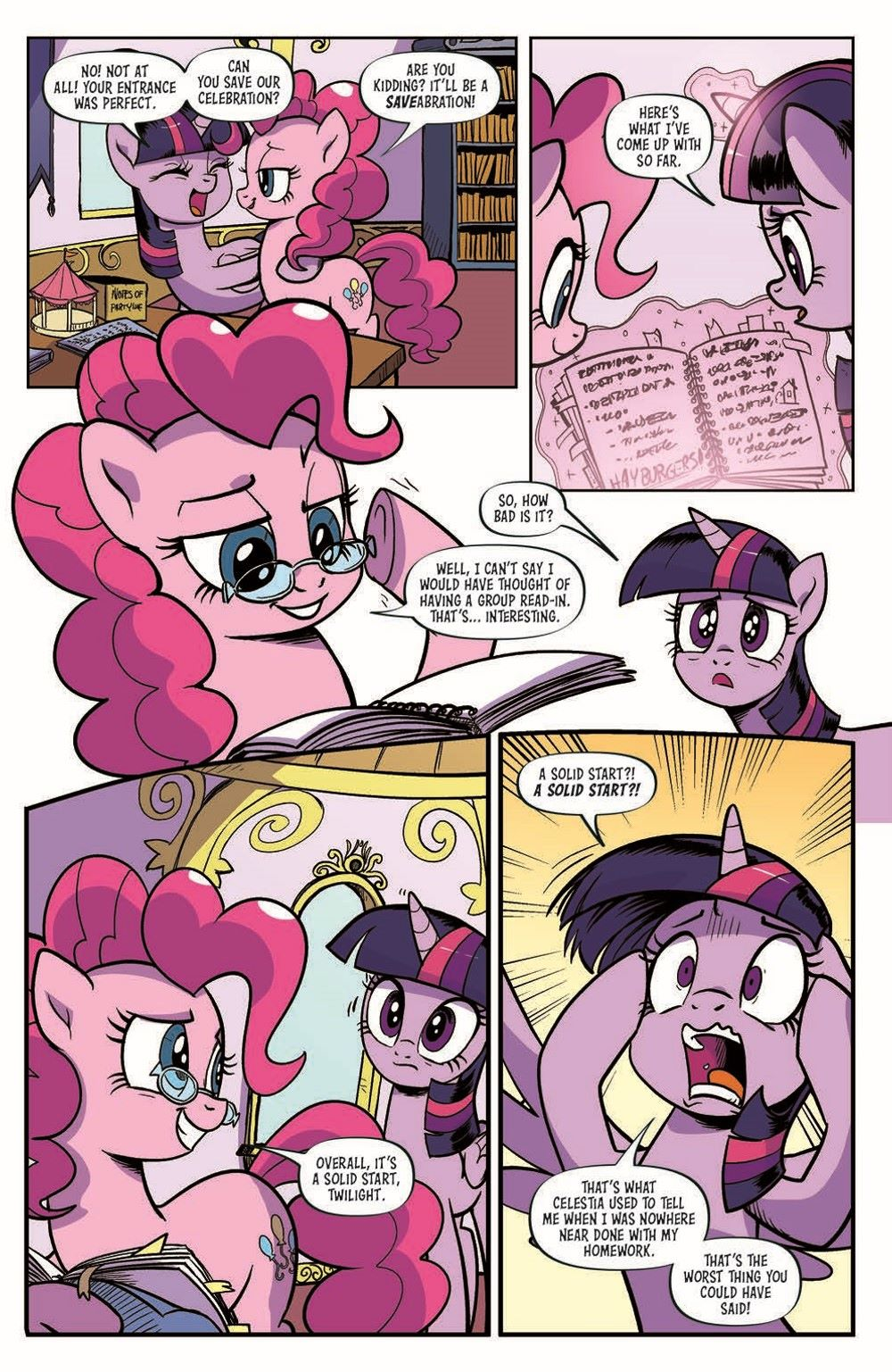 MLP94-pr-5 ComicList Previews: MY LITTLE PONY FRIENDSHIP IS MAGIC #94