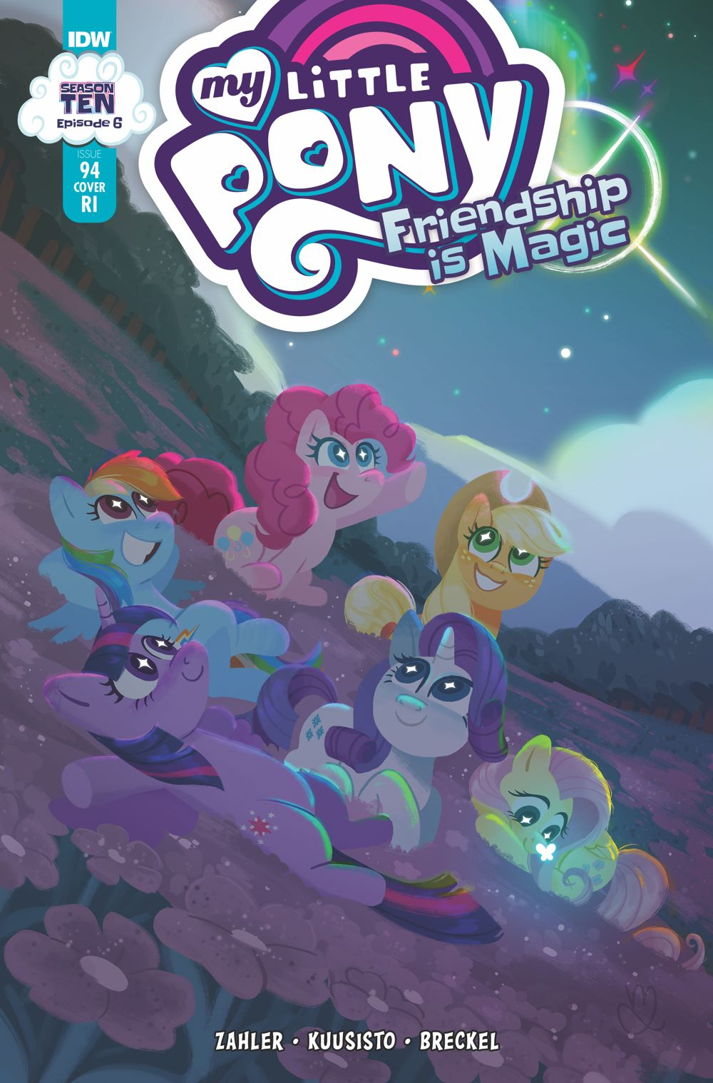 MLP94_06-coverRI ComicList Previews: MY LITTLE PONY FRIENDSHIP IS MAGIC #94