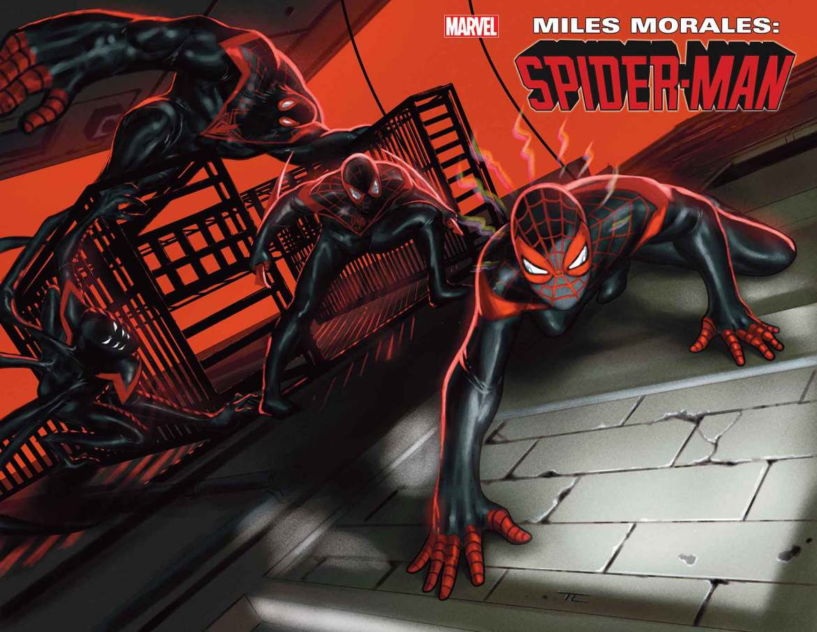 MMSM_25 MILES MORALES: SPIDER-MAN #25 sends in the clones