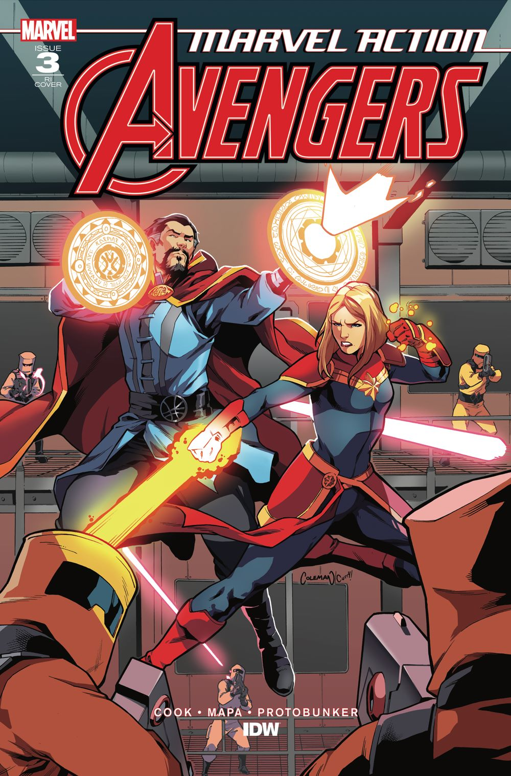 Marvel_Avengers03_coverRI ComicList Previews: MARVEL ACTION AVENGERS VOLUME 2 #3
