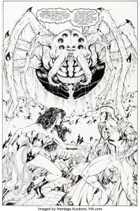 Matthew-Clark-and-Tom-Simmons-Wonder-Woman-151-Page-14-199x300 A Wonder Woman Among Boys: Grade A on the CAT Scale