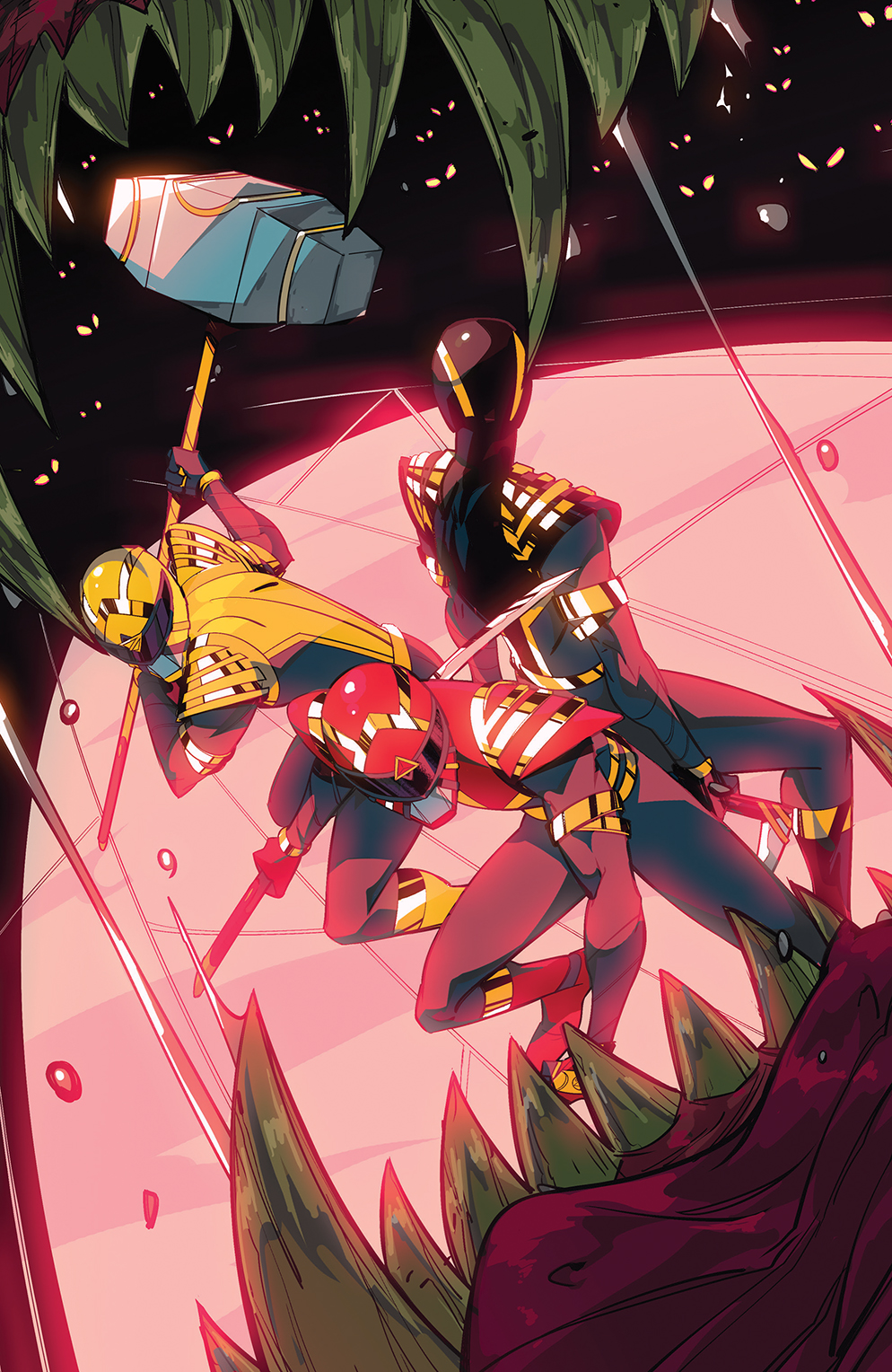 PowerRangers_003_Cover_E_Variant ComicList: BOOM! Studios New Releases for 01/20/2021