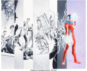 Project-Superpowers-300x244 Alex Ross Painted Covers: Museum-Quality Fine Art