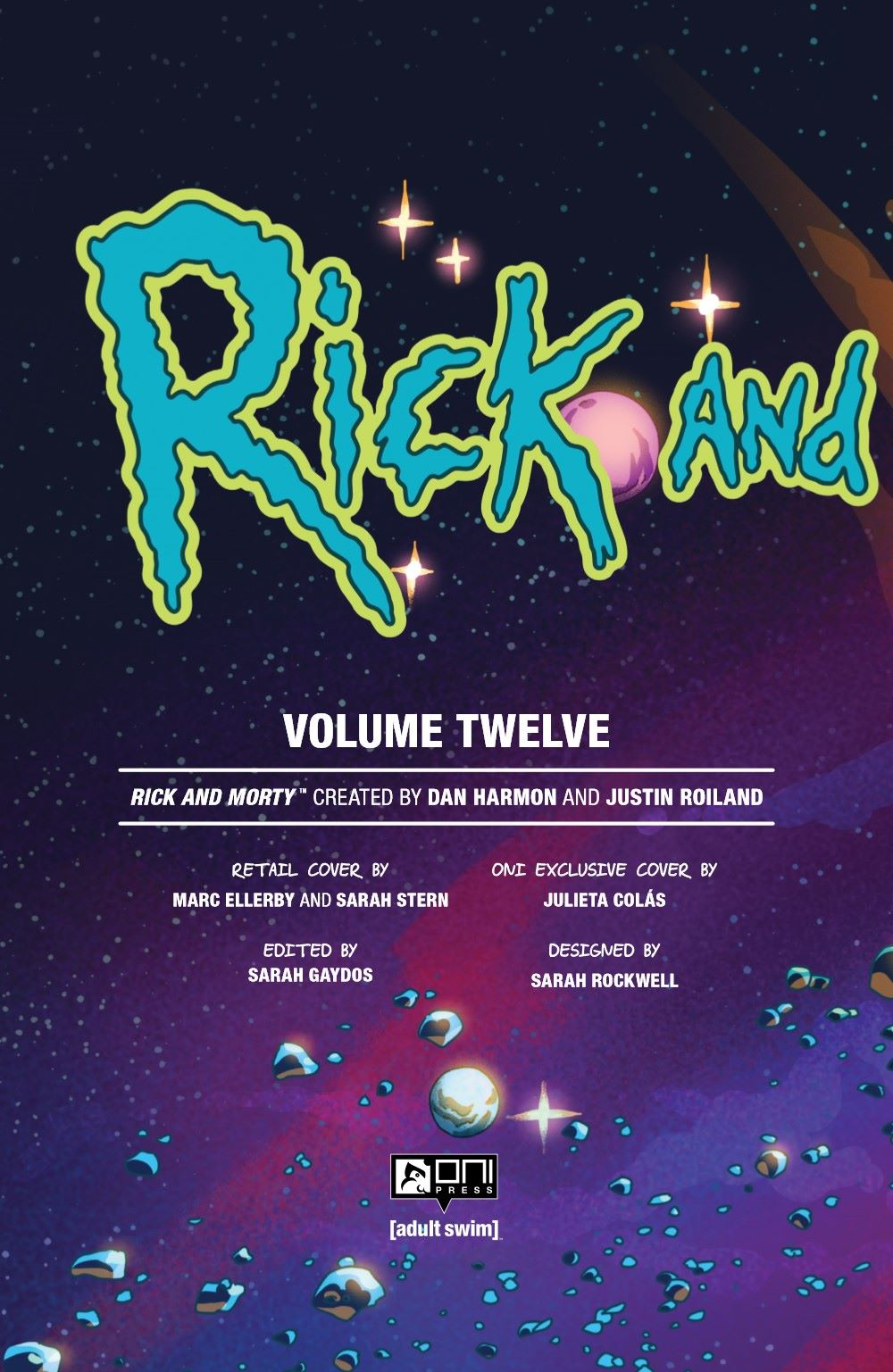 RICKMORTY-V12-TPB-REFERENCE-003 ComicList Previews: RICK AND MORTY VOLUME 12 TP