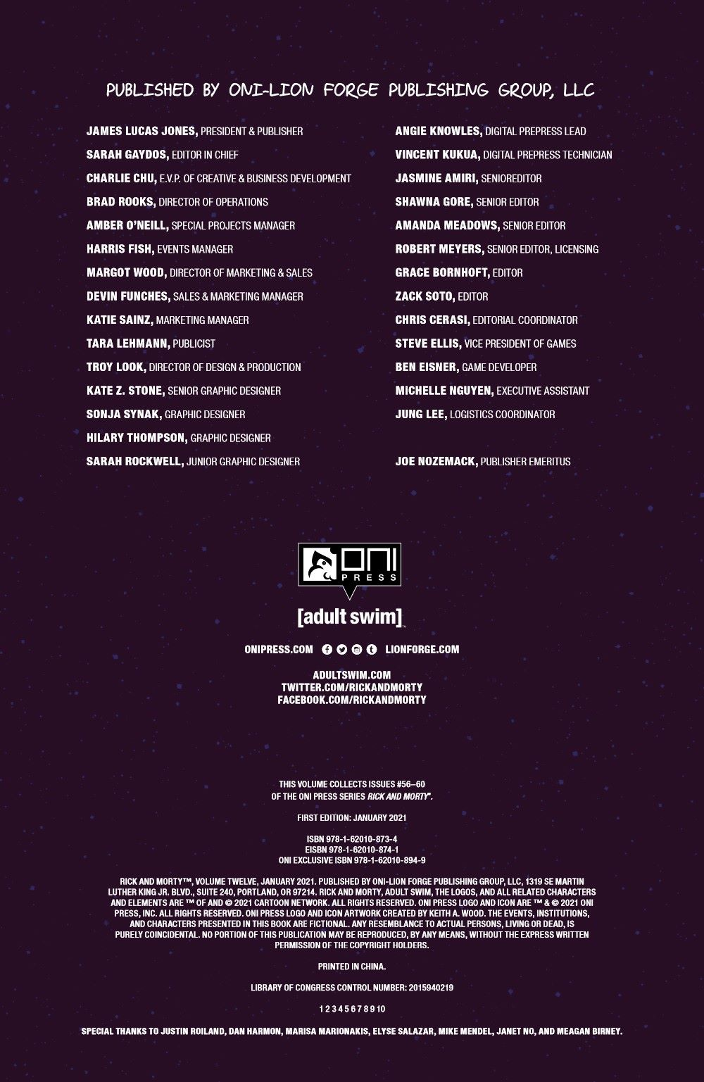 RICKMORTY-V12-TPB-REFERENCE-005 ComicList Previews: RICK AND MORTY VOLUME 12 TP