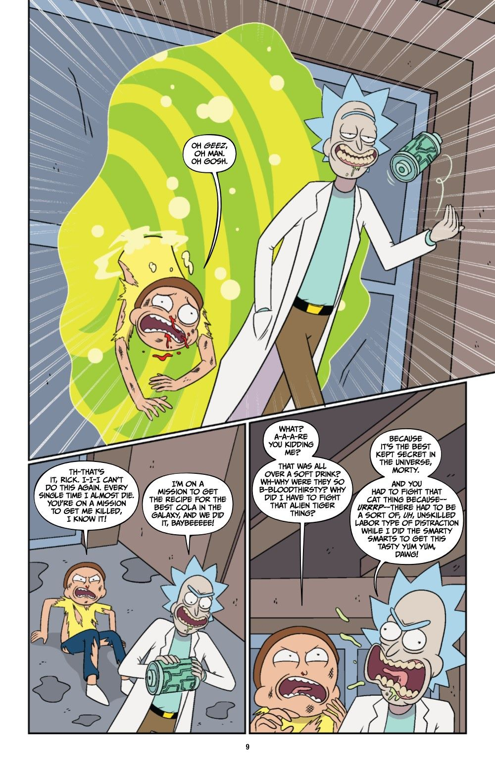 RICKMORTY-V12-TPB-REFERENCE-010 ComicList Previews: RICK AND MORTY VOLUME 12 TP