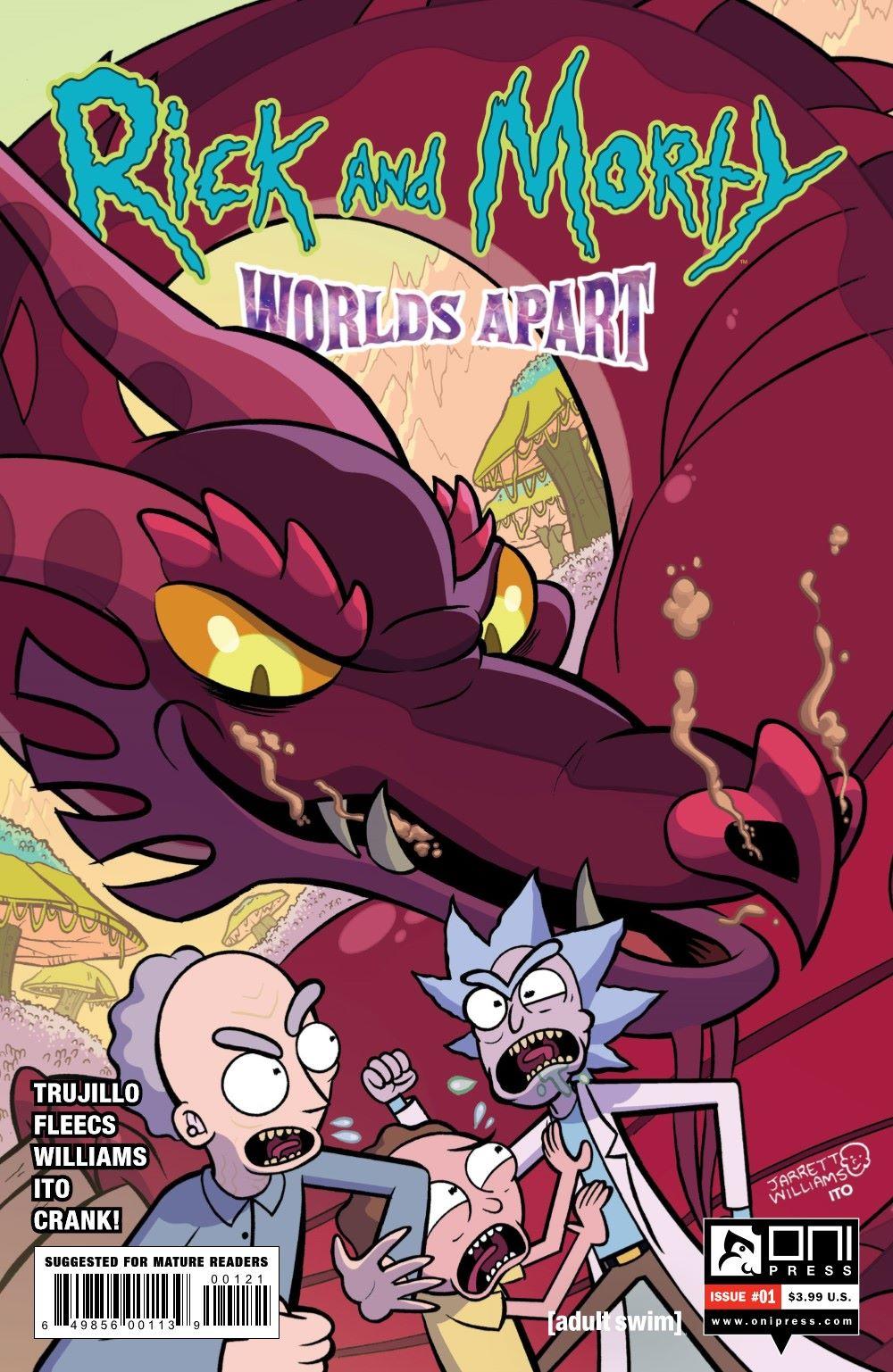 RICKMORTY-WORLDSAPART-1-MARKETING-02 ComicList Previews: RICK AND MORTY WORLDS APART #1