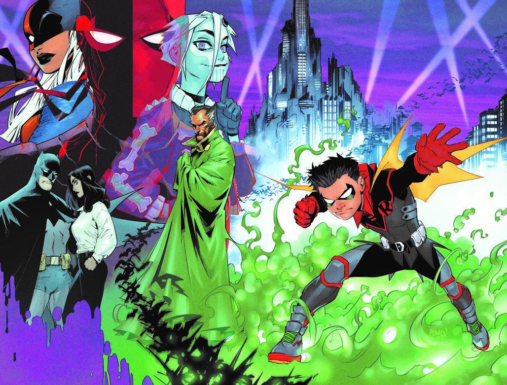 Robin-1-Variant-cover DC Comics April 2021 Solicitations