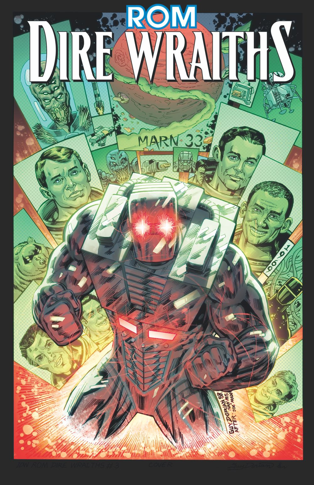 Rom-Dire-Wraiths-TPB-cover ComicList: IDW Publishing New Releases for 01/20/2021