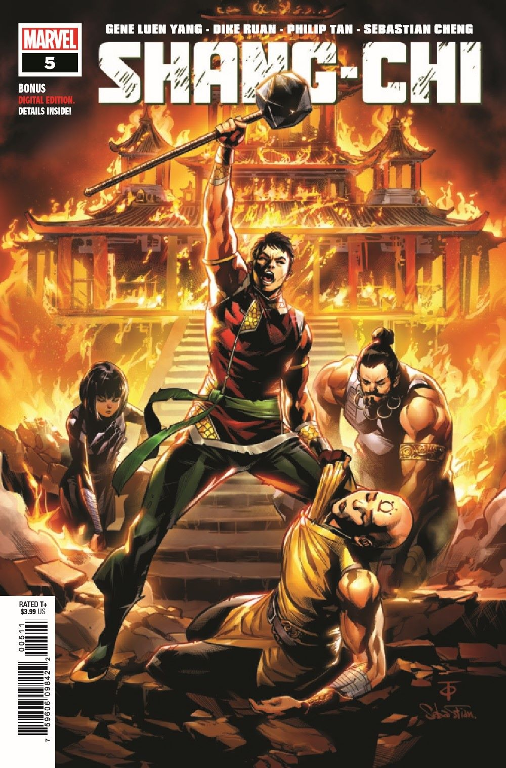 SHANGCHI2020005_Preview-1 ComicList Previews: SHANG-CHI #5 (OF 5)