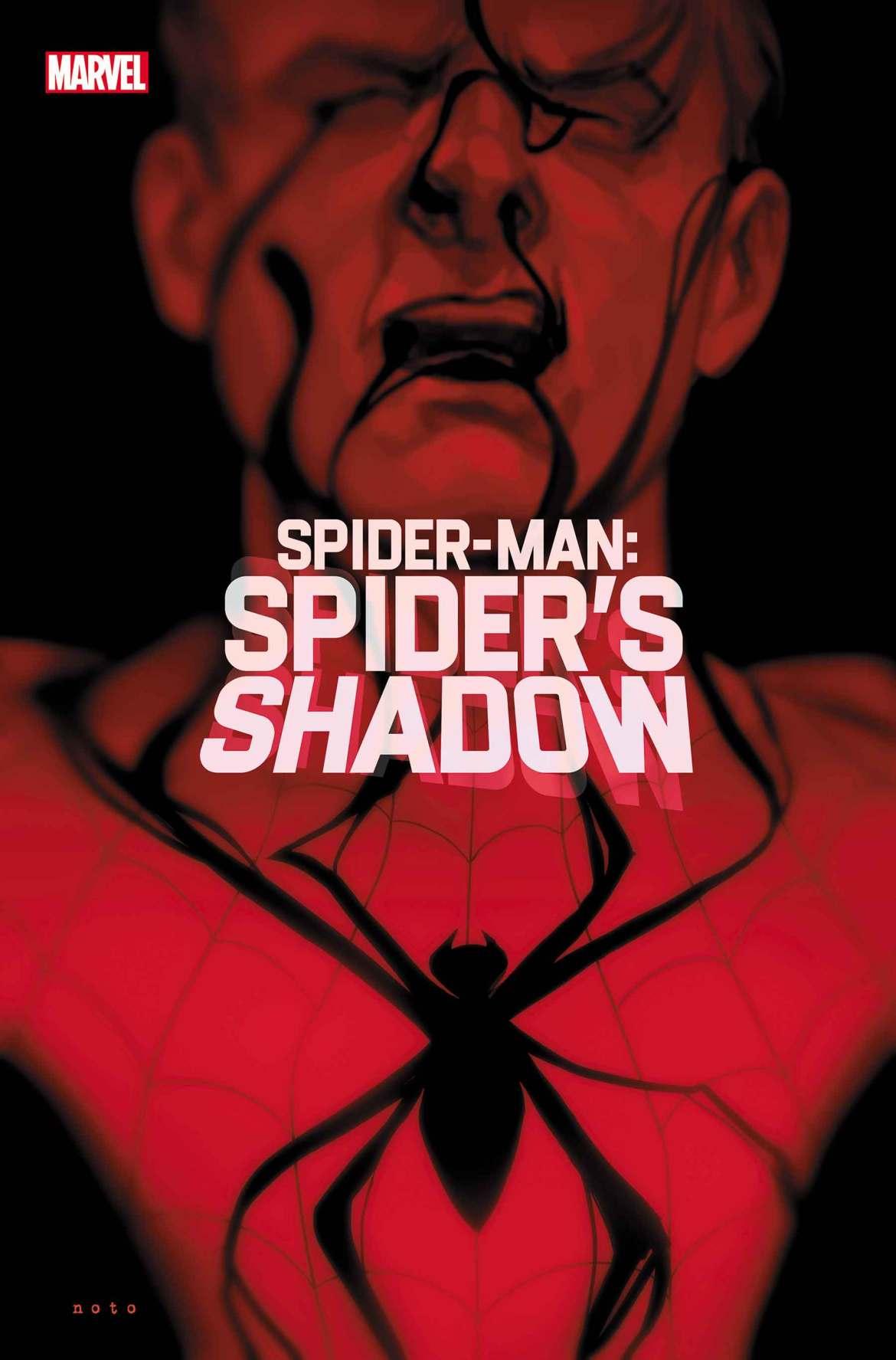 SMSPIDERSHADOW2021001_cov Peter Parker embraces the dark in SPIDER-MAN: SPIDER'S SHADOW
