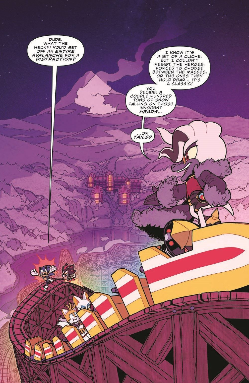 STH36_pr-3 ComicList Previews: SONIC THE HEDGEHOG #36