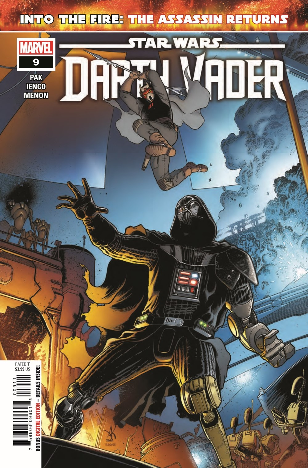 STWVADER2020009_Preview-1 ComicList Previews: STAR WARS DARTH VADER #9