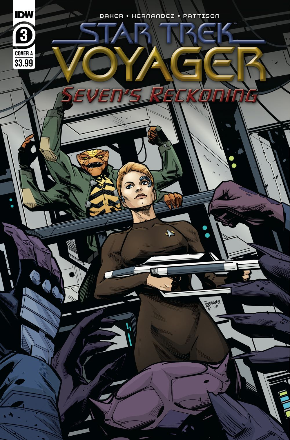 ST_Voyager_SR03-coverA-1 ComicList: IDW Publishing New Releases for 01/20/2021