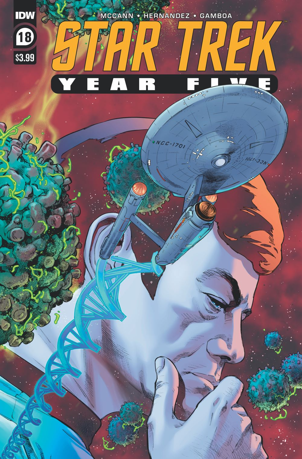 ST_YearFive18-cover ComicList Previews: STAR TREK YEAR FIVE #18