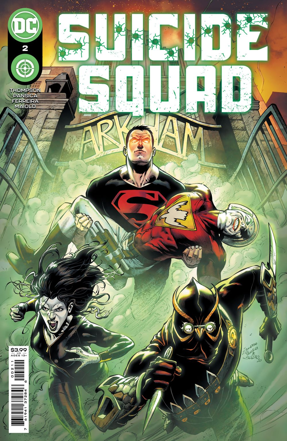 SUICIDESQUAD_Cv2 DC Comics April 2021 Solicitations