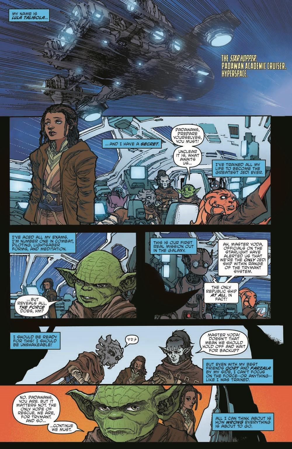 SWAHRA01-pr-4 ComicList Previews: STAR WARS THE HIGH REPUBLIC ADVENTURES #1