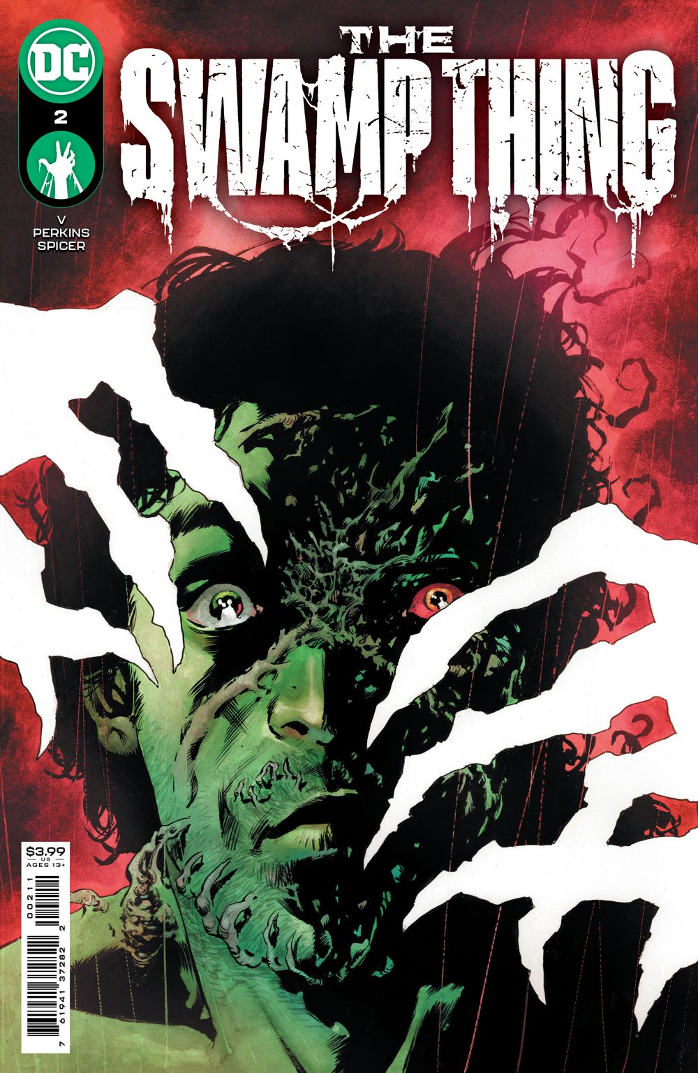 SWAMPTHING_Cv2 DC Comics April 2021 Solicitations