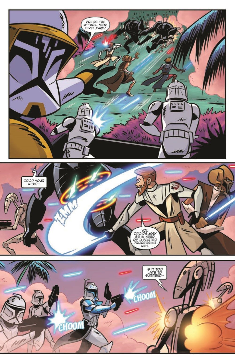 SWA_The-Clone-Wars_Battle-Tales_pr-7 ComicList Previews: STAR WARS ADVENTURES THE CLONE WARS BATTLE TALES GN