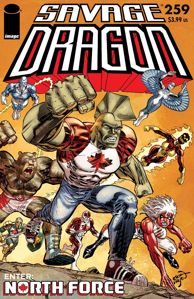 SavageDragon_259a Image Comics April 2021 Solicitations
