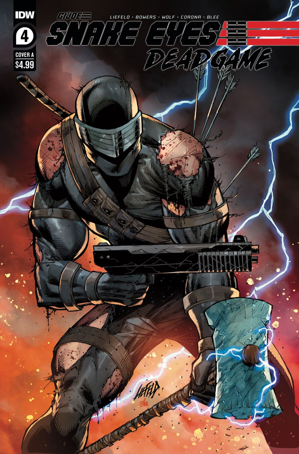 SnakeEyes_DG04-coverA ComicList: IDW Publishing New Releases for 02/03/2021