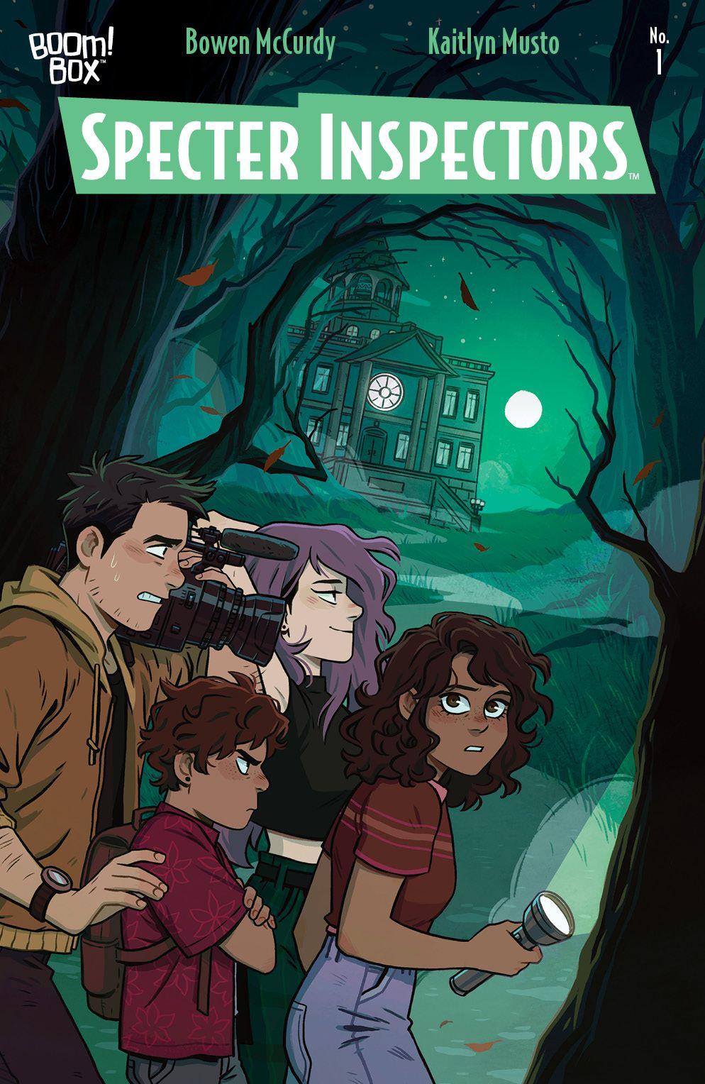 SpecterInspectors_001_Cover_A_Main ComicList: BOOM! Studios New Releases for 02/03/2021